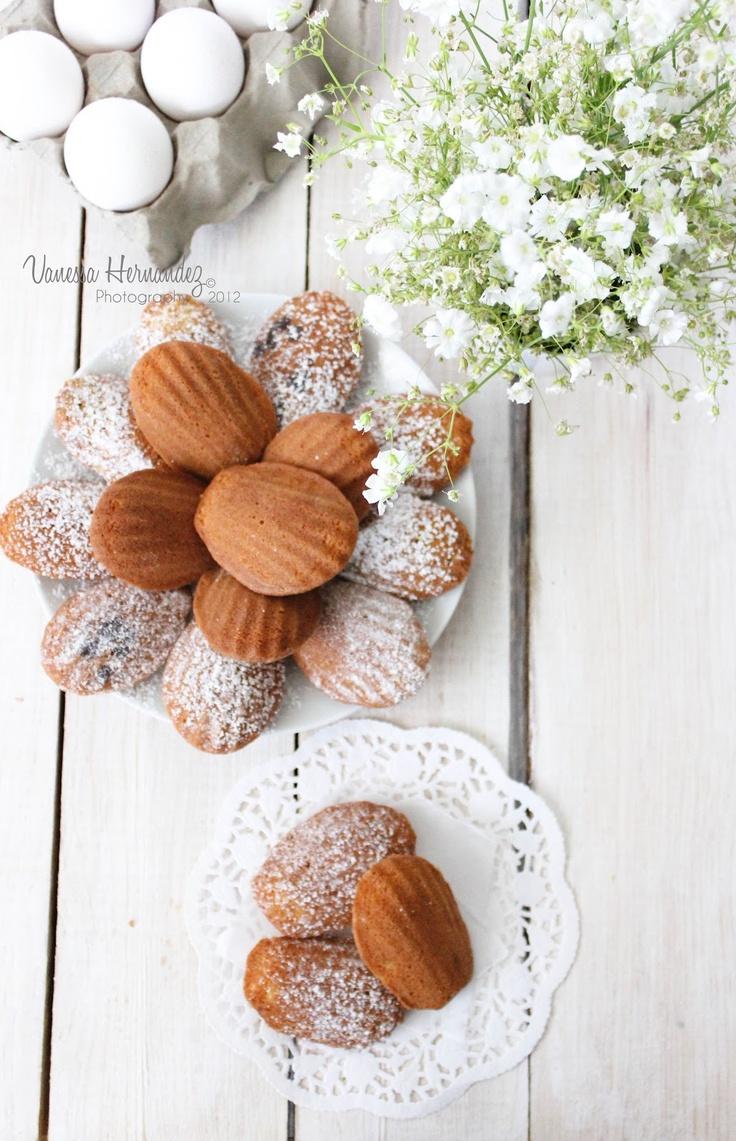 Vanilla Madeleines | Mousse. | Pinterest