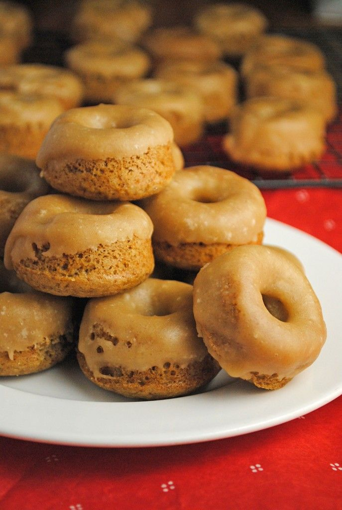 Mini Gingerbread Donuts | Baking | Pinterest