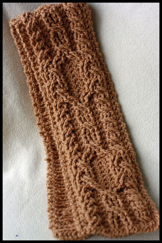 Crochet Scarf Patterns With Cables : Canyon River Cable Scarves Crochet Pattern - 4 Striking ...