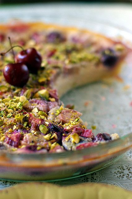 cherry clafoutis by Fresh From The Oven 606, via Flickr