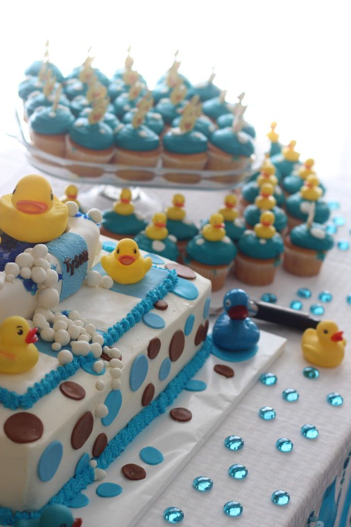 rubber duck baby shower party ideas pinterest
