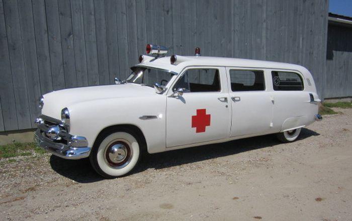 1951 Ford ambulance