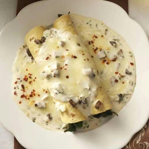 Spinach mushroom enchiladas | Yummy for your Tummy! | Pinterest