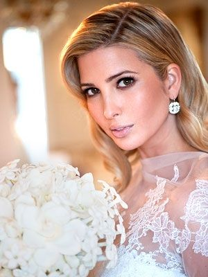 Ivanka trump wore a grace kelly inspired vera wang wedding gown the