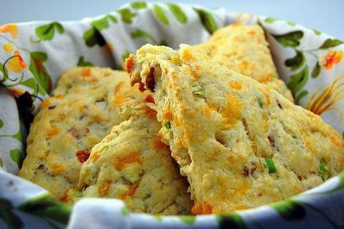 Bacon and Cheddar Scones | Food | Pinterest
