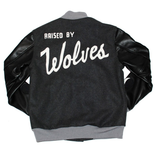 Lunar Cycle Varsity Jacket by Raised by Wolves