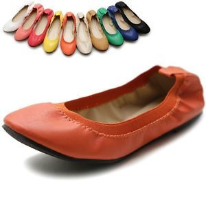 ollio Womens Shoes Ballet Comfort Cute Multi Coloed Flats ollio