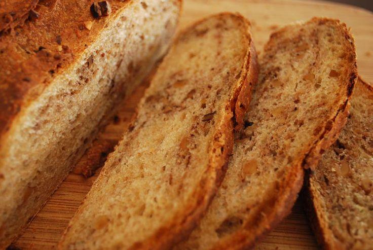 walnut-sage-bread | recipes | Pinterest