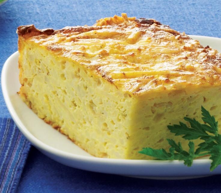 Passover Recipes | Potato Kugel with Fried Shallots