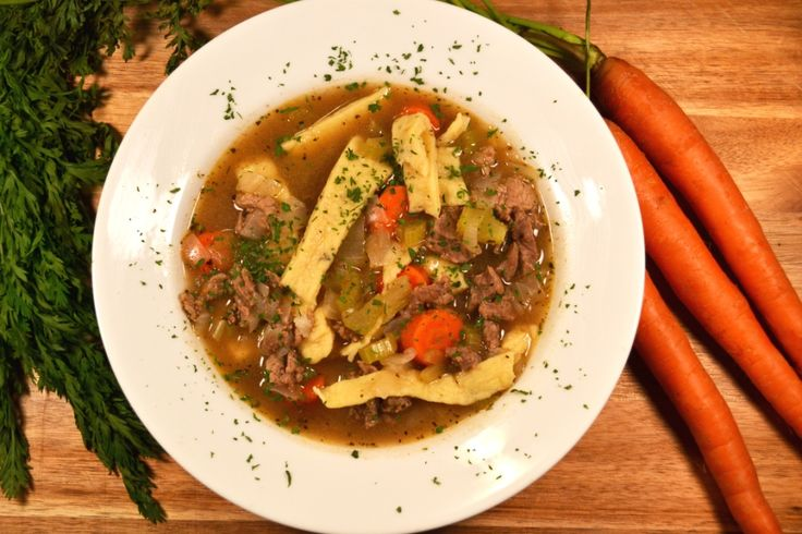 Beef Stew with Homemade Noodles | Recipe