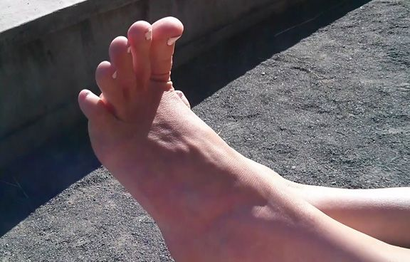 getting private foot fetish