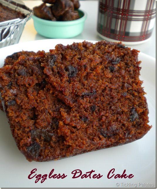 Eggless Date Cake Recipe Microwave