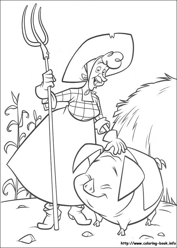 Home On The Range coloring page | Coloring pages and