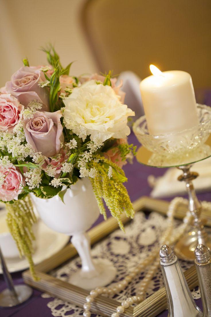 Vintage wedding centerpiece el girasol pinterest