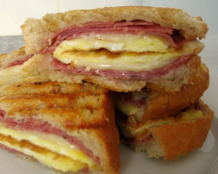 Is It EDible?: Breakfast Panini | Panini Ideas | Pinterest