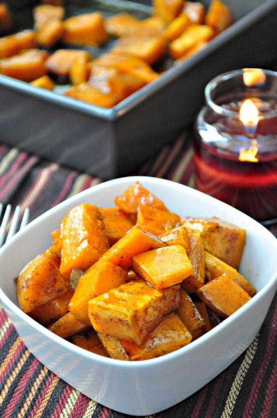 The Avid Appetite - The Avid Appetite - Maple Glazed Sweet Potatoes