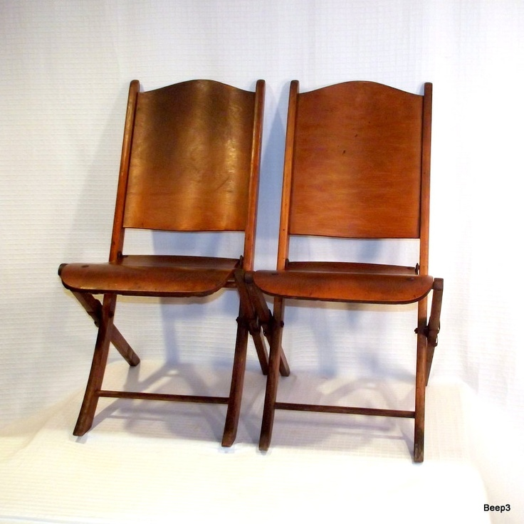 Antique Wooden Folding Chairs House and Home
