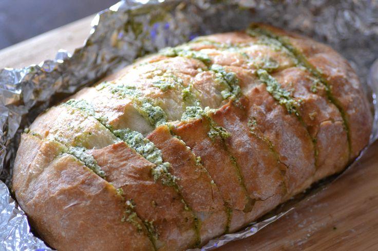 Artichoke Feta Garlic Bread | Breads (Sweet & Savory) | Pinterest