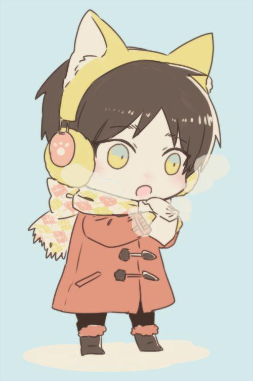 Eren jaeger neko