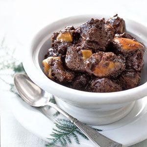 Chocolate-Caramel Bread Pudding Recipe ~ Yum!!