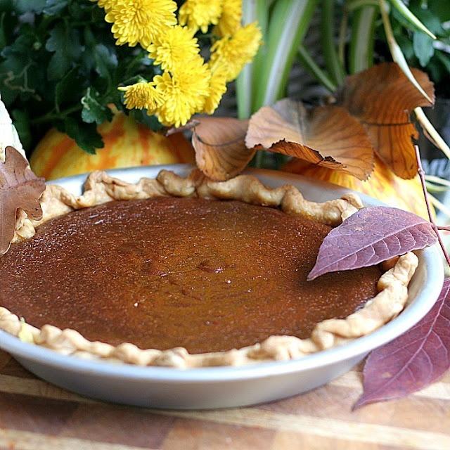 Caramel Pumpkin Pie | Food to try | Pinterest