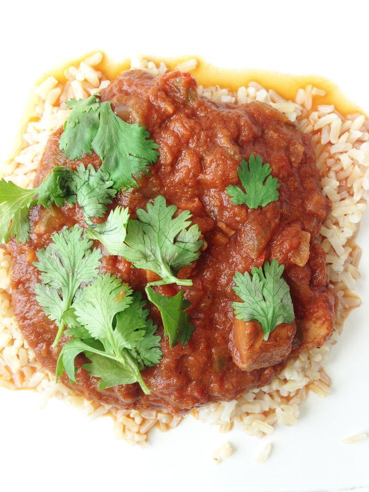 skinny crockpot chicken tikka masala. | Crockpot Meals | Pinterest