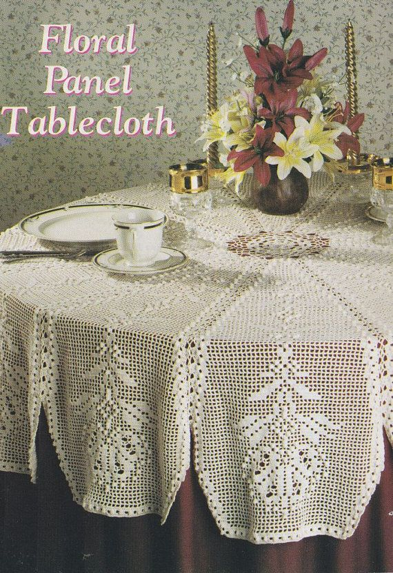 Crochet Patterns Round Tablecloth : Round Tablecloth