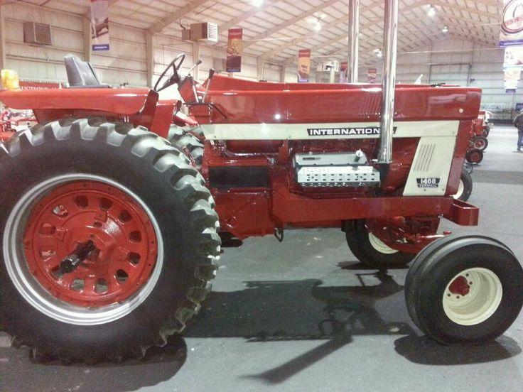 Pulling Tractor For Sale Craigslist >> Farmall 1468 era o modelo 1466 com um motor V8 de caminhão. Images - Frompo