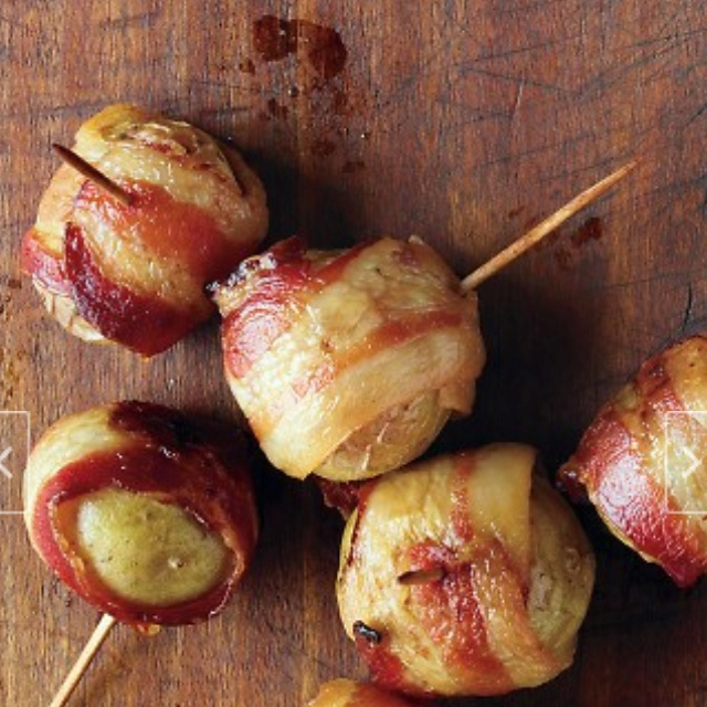 Bacon-wrapped potatoes! | Recipes | Pinterest