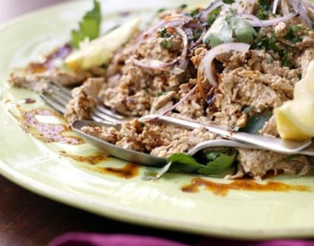 Circassian chicken salad   Chicken   Pinterest