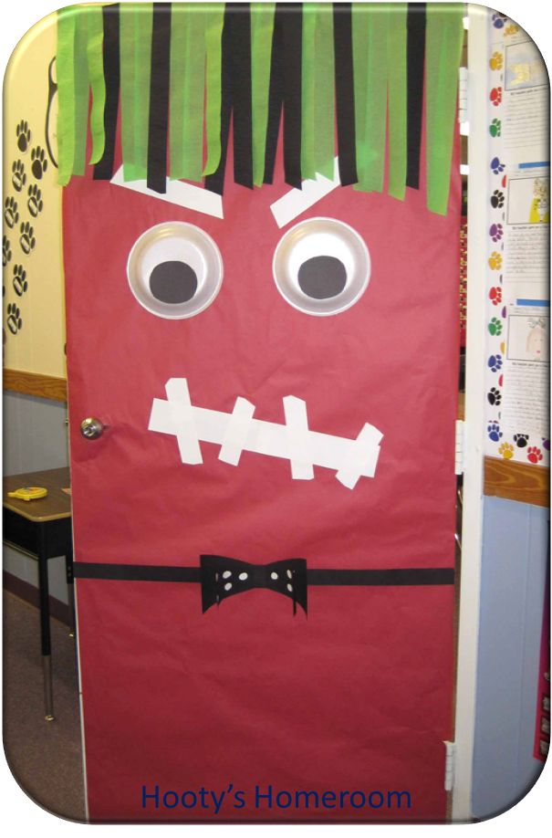 Halloween Classroom Door Decorations Ideas : Pin by leslie daniel on classroom bulletin boards doors
