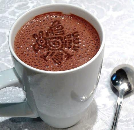 ... Cayenne Pepper and Grated Cinnamon to taste. Add hot chocolate to your