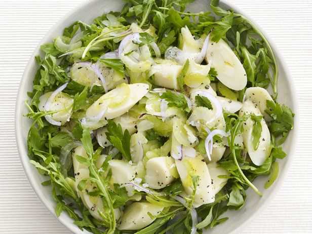 Lemony Hearts of Palm Salad from #FNMag #myplate #veggies