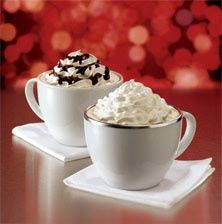 Peppermint Mocha Lattes ~ authentic {Starbucks} recipe