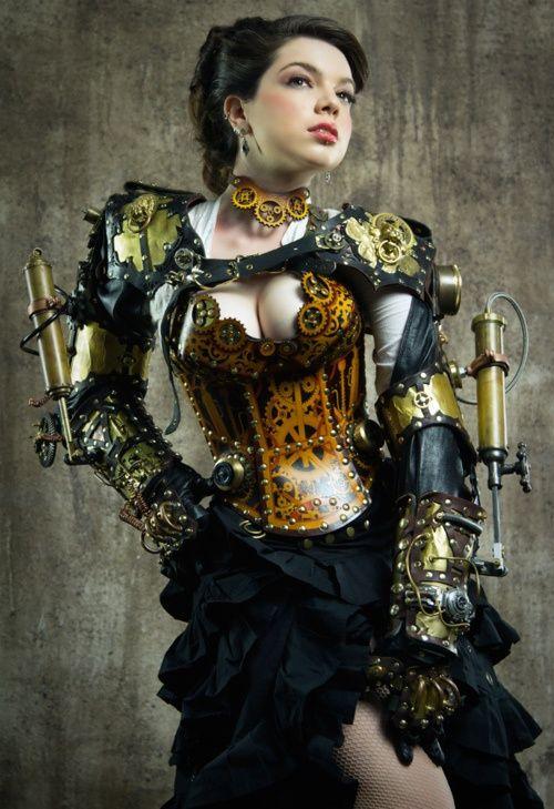 Heavy steampunk fashion