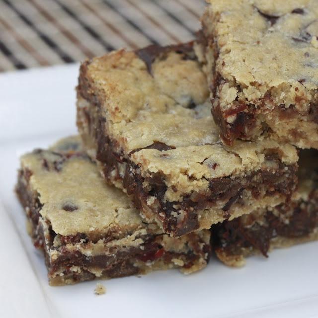 Ooey Gooey Sandwich Cookie Bars | Food | Pinterest