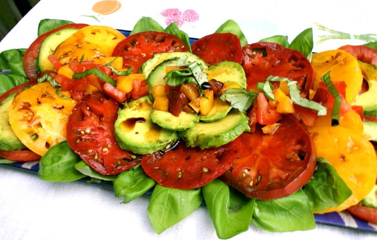 tomato salad heirloom tomato salad heirloom tomato salad avocado salad ...