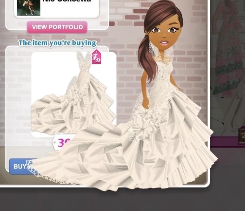 Wedding dress from fashion mall p