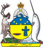 nunavut coat of arms coloring page