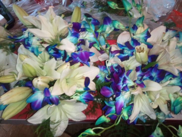 Tye Dye Flowers Wedding Flowers By Richard Meiburg