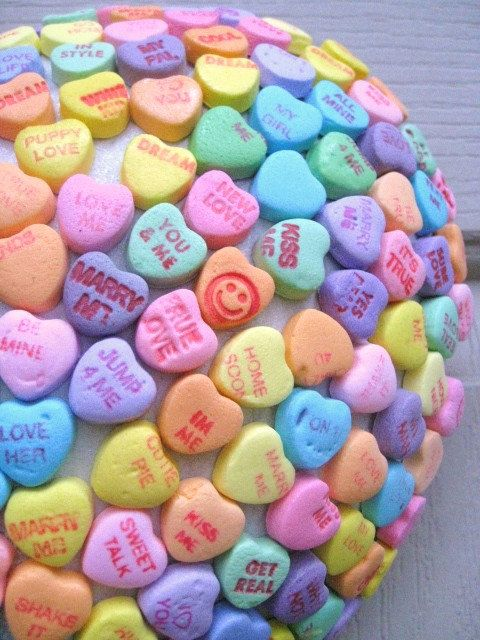 valentine day candy heart sayings