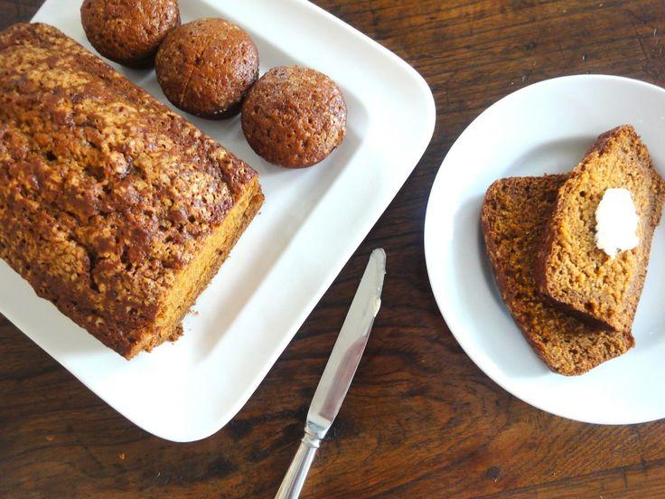 Pumpkin Quick Bread | A quick, spiced pumpkin bread with a super moist ...