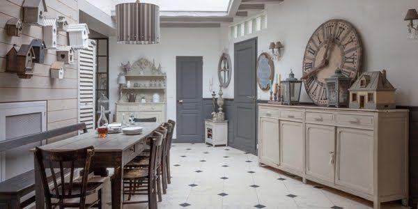 Modele Cuisine Gedimat : La Vie en Gris Souris  Antique Meets Modern  Pinterest