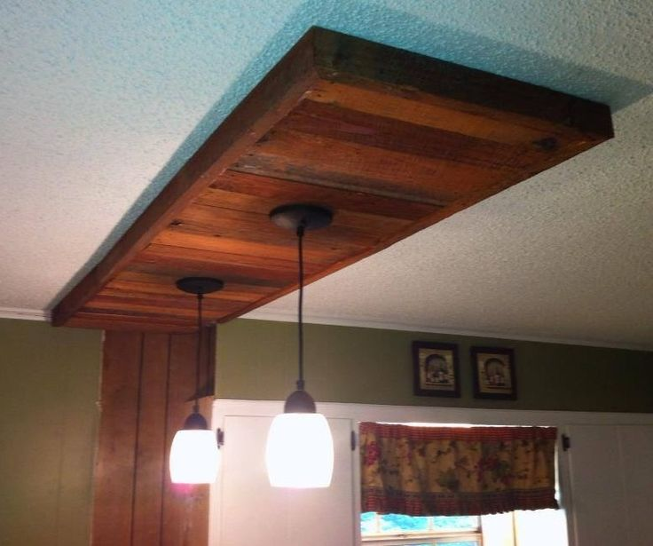 Pallet wood ceiling accent new bathroom pinterest for Bathroom wood ceiling ideas