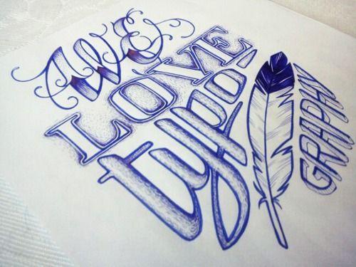 We Love Typograpghy!