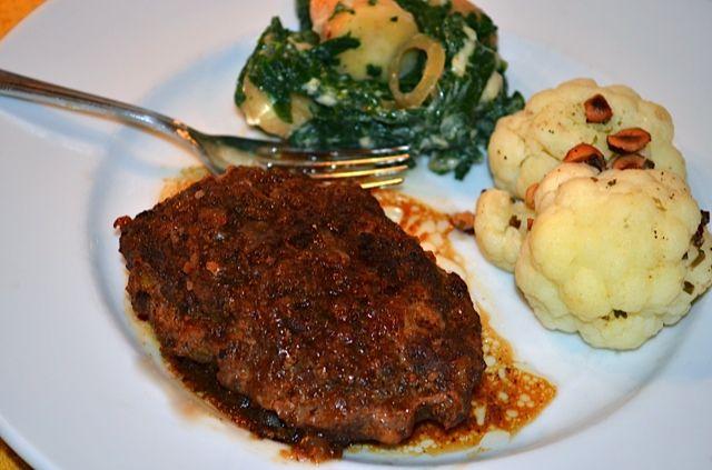 Salisbury steak w/onion gravy... yummy! | Favorite Recipes | Pinterest