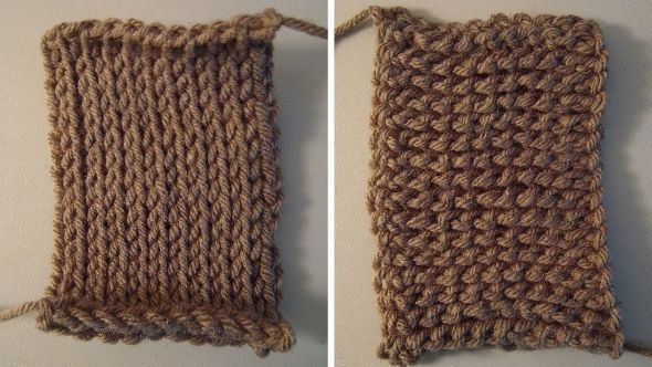 Crochet that looks like knitting Crochet Pinterest