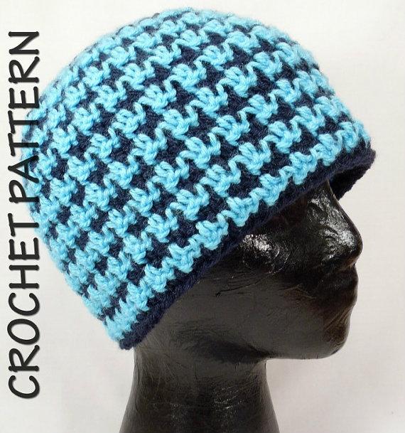 Houndstooth Crochet Pattern