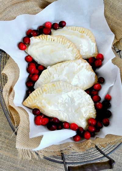 cranberry raspberry apple hand pies | | ♥♥♥Cranberry ...