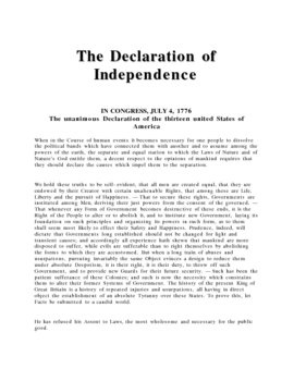 declaration of independence article 6